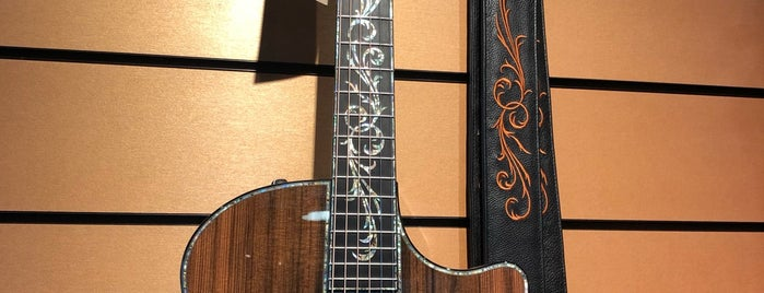 Taylor Guitars is one of Must See San Diego.