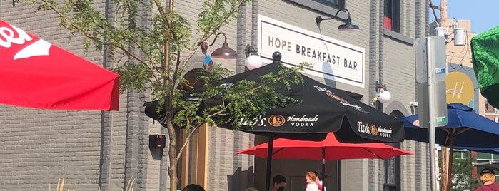 Hope Breakfast Bar is one of seen onscreen part 2.