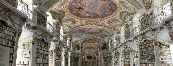 Stiftsbibliothek Admont is one of Locais salvos de Finn.
