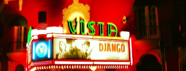 Vista Theater is one of LA spots.