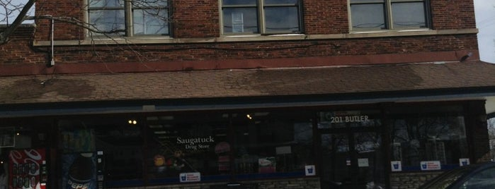Saugatuck Drug Store is one of Saugatuck Shops to Visit.