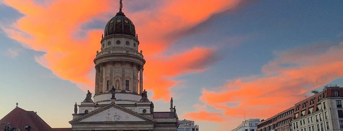 Gendarmenmarkt is one of berlin.