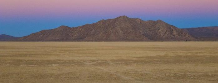 Black Rock Desert is one of Burn Baby Burn.