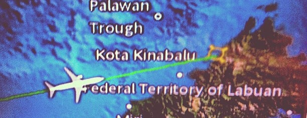 Kota Kinabalu International Airport (BKI) is one of Airports Visited.