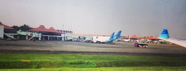 Soekarno-Hatta International Airport (CGK) is one of Airports Visited.