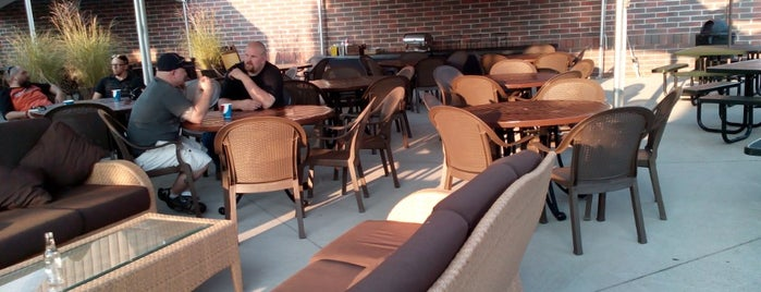 CJ Barrymores Patio is one of Fun Go-to-Spots.