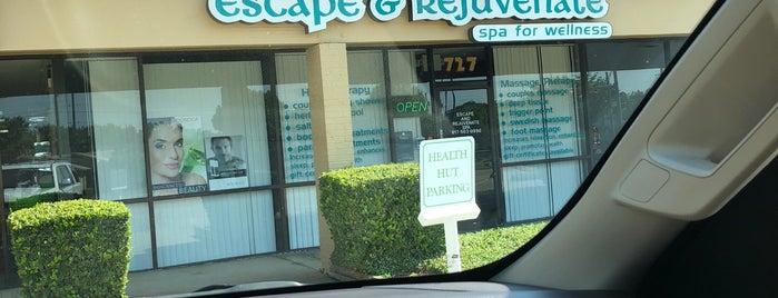 Escape & Rejuvenate Spa is one of Strange Places.