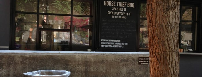 Horse Thief is one of SoCal to-do.