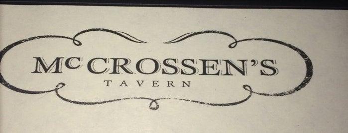 McCrossen's Tavern is one of Posti che sono piaciuti a Gary.