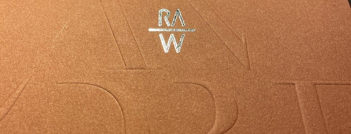 RAW is one of Taipei.