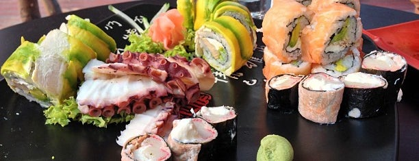 Kudasaru Sushi is one of ¡Comida!.