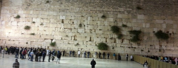 The Western Wall (Kotel) is one of 36 Hours in... Jerusalem.