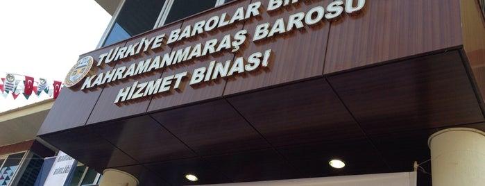Kahramanmaraş Barosu is one of สถานที่ที่ A ถูกใจ.
