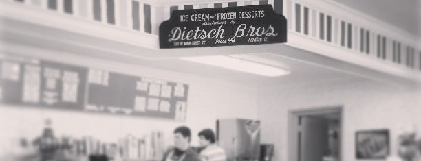 Dietsch's Brothers is one of Trip Advisor's Top 10 Ice Cream Shops in U.S..