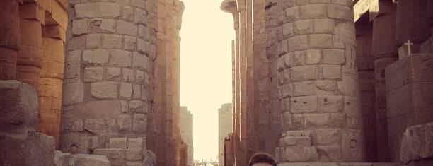 The Karnak Temple Complex is one of Orte, die Volker gefallen.