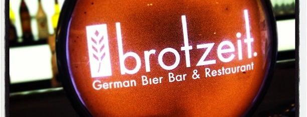 Brotzeit is one of Ichiro's reviewed restaurants.