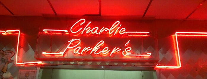 Charlie Parker's Diner is one of Diners, Drive-Ins, and Dives.