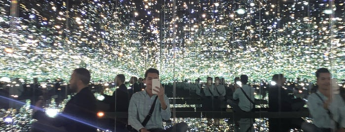 Yayoi Kusama's Infinity Mirrored Room at The Broad is one of Los Angeles.