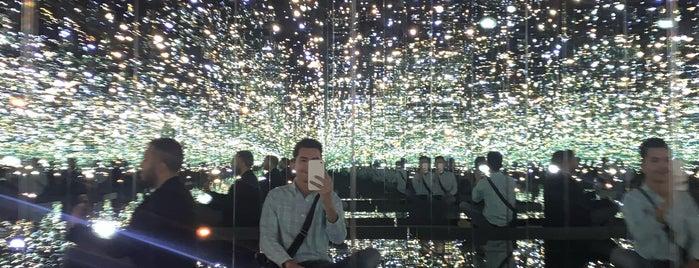 Yayoi Kusama's Infinity Mirrored Room at The Broad is one of USA.