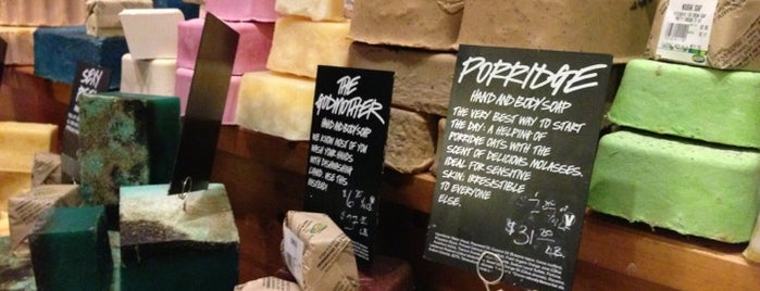 LUSH is one of USA.