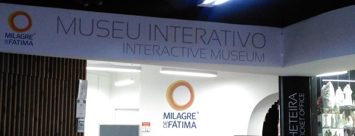 "Museu Interactivo ""O Milagre de Fátima"" is one of Portugal."