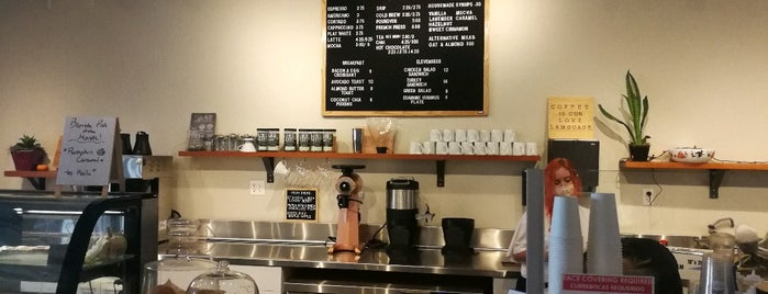 Leap Coffee is one of Posti che sono piaciuti a John.