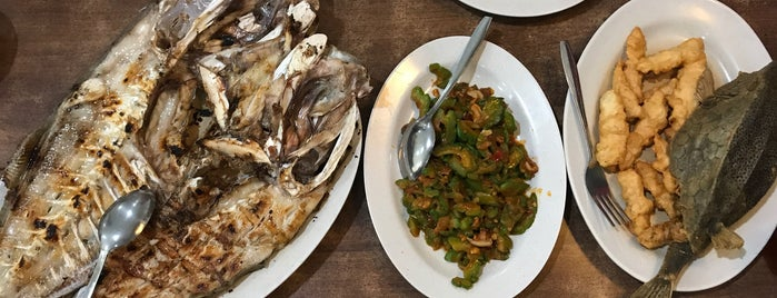 Rumah Makan Ujung Pandang is one of Top picks for Seafood Restaurants.