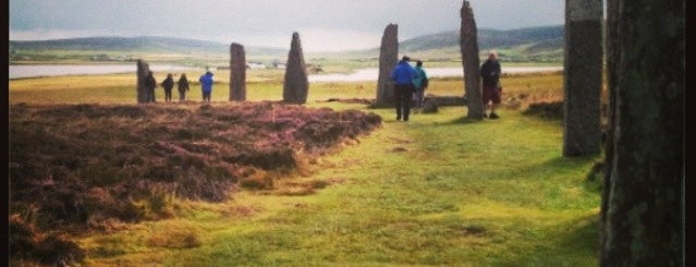 The Ring of Brodgar Stone Circle & Henge is one of Tempat yang Disimpan Sevgi.