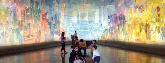 """Musée d'Art Moderne de Paris (MAM) is one of Le parcours """"Pass Jeunes""""."""