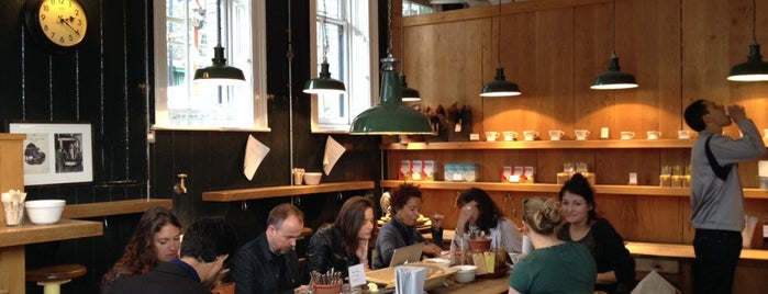 Monmouth Coffee Company is one of Best in London.