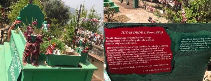 İlyas dede türbesi is one of Gidilecek.