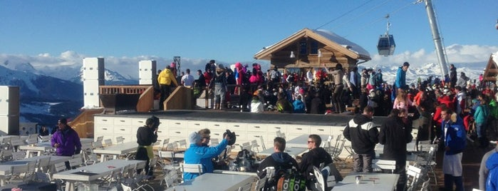 La Folie Douce is one of Courchevel.