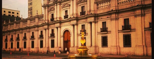 Palacio de La Moneda is one of Places to Check Out in Chile.