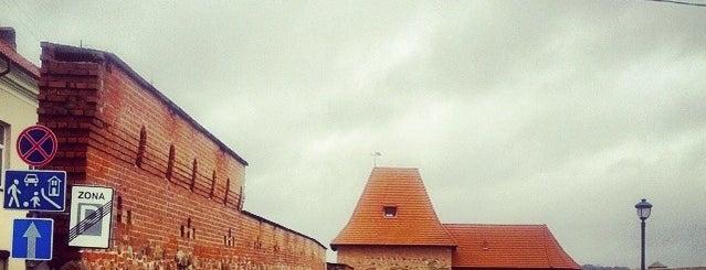 Vilniaus gynybinės sienos bastėja | Bastion of Vilnius City Wall is one of Baltic Road Trip.