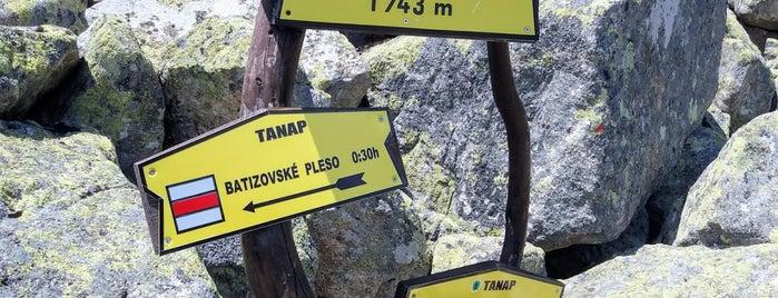 Rázcestie pod Suchým vrchom (1743 m n. m.) is one of Turistické body v TANAP-e.