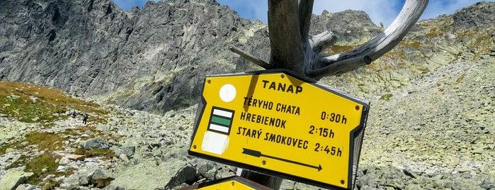 Rázcestie pod Sedielkom (2040 m n. m.) is one of Turistické body v TANAP-e.