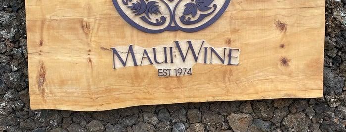 Maui Wine is one of HAWAII.