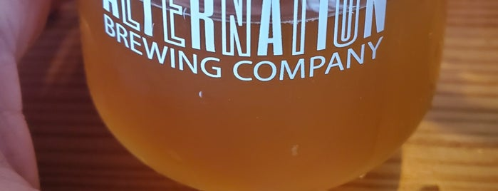Alternation Brewing Company is one of Denver.