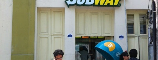 Subway is one of pe, Recife.
