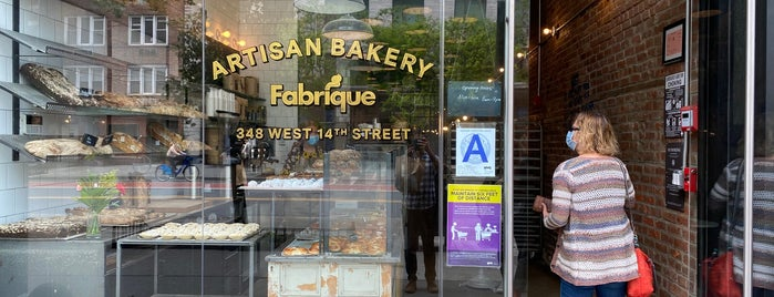 Fabrique Bakery is one of Fav NY Food.