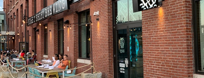 Night Shift Brewing is one of TODO Boston.