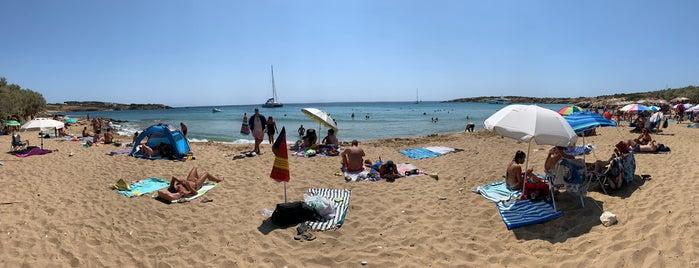 Farangas beach is one of Lieux qui ont plu à Vangelis.