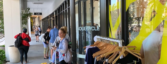 SoulCycle South Beach is one of Lieux qui ont plu à Stephane.