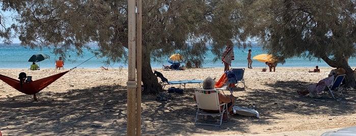 Aliki Beach is one of Tempat yang Disukai David.