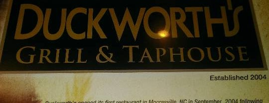 Duckworth's Grill & Taphouse is one of Top Restaurants.
