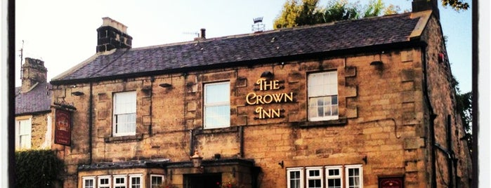 The Crown Inn is one of Carl'ın Beğendiği Mekanlar.