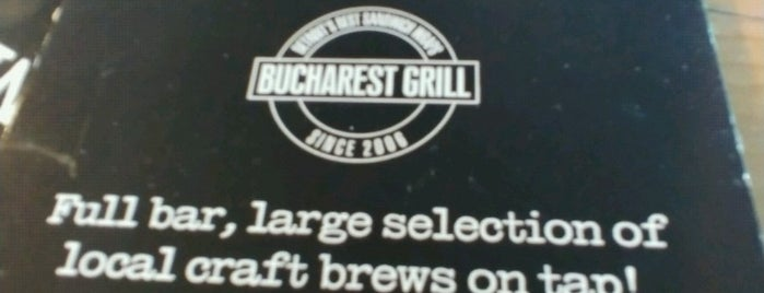 Bucharest Grill is one of Food.