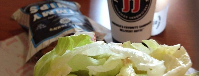 Jimmy John's is one of Tempat yang Disukai Jonathan.