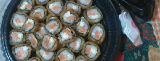 Top Sushi is one of Lieux sauvegardés par Thiago.