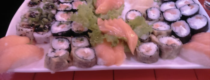 Oficina do Sushi is one of Lugares favoritos de Thiago.